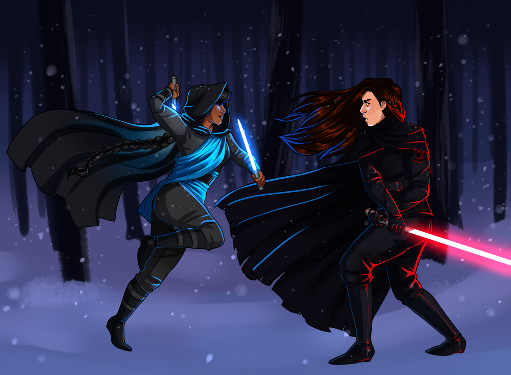 Commission - Star Wars OC's by caezhel on DeviantArt