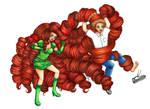 Copic Commission - Hair Revenge