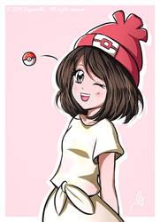Pokemon Sun and Moon - Female trainer