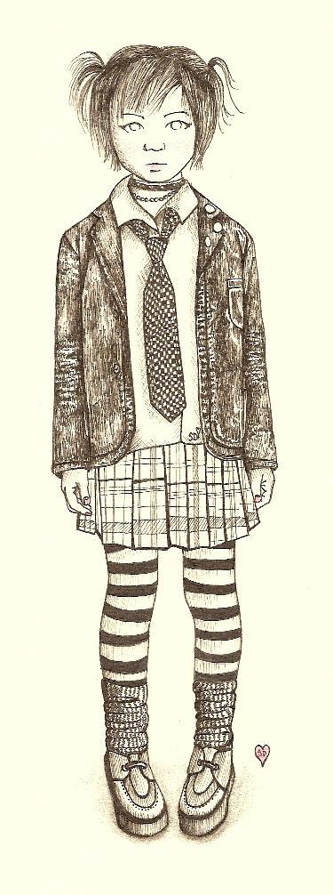 I love stripey socks by shimmyhunnyshimmy