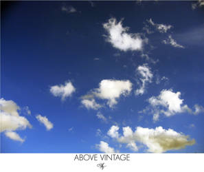 Daydream In Blue - Sky Stock by AboveVintage