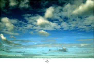 Slightly Greener - Sky Stock by AboveVintage