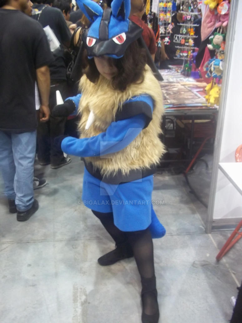 lucario cosplay by bigalax on deviantart