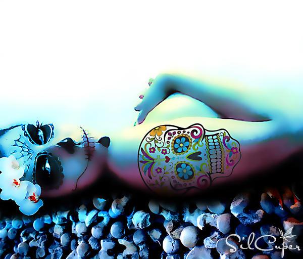 Sugar Skull by silcuper