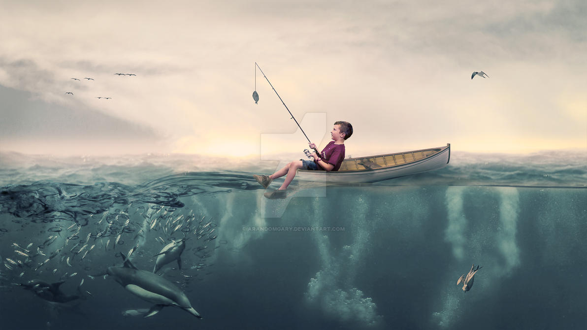 A good day fishing by arandomgary on deviantart for Good day for fishing