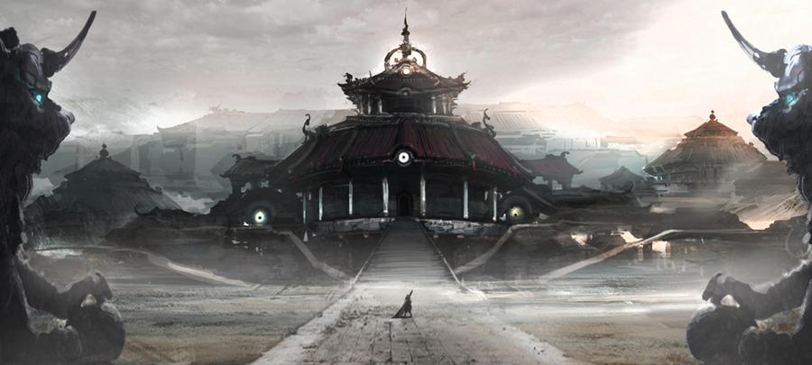 oriental fantasy by artcobain