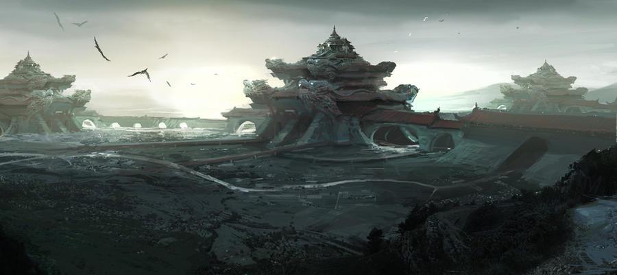 oriental fantasy2 by artcobain