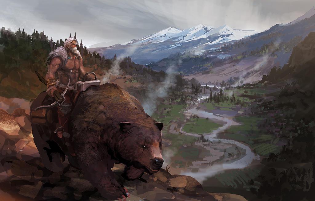 Bearman by artcobain