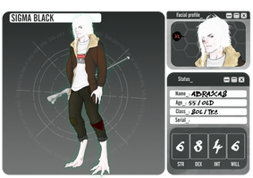 Abraxas - Sigma_Black by CoffeeDiSpencer