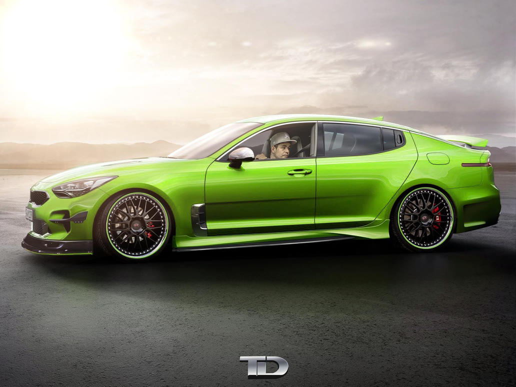 Kia Stinger Gt By Topvt On Deviantart
