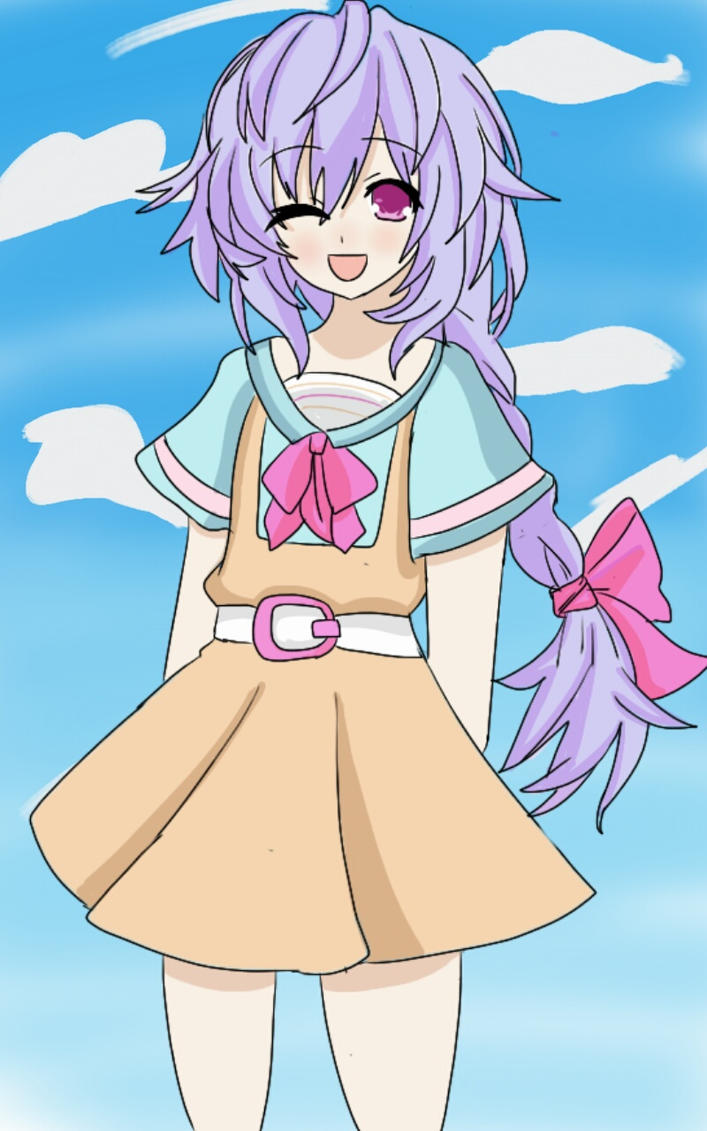 Plutia's school uniform by 123icoo