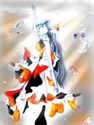 Spirit of the koi by sachiko86