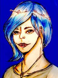 Destiny blue fanart  by sachiko86