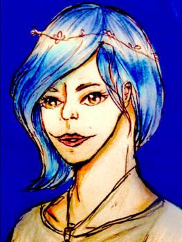 Destiny blue fanart