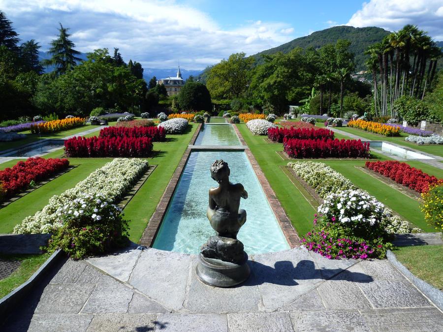 Villa taranto by drbobedin on deviantart for Jardines italianos