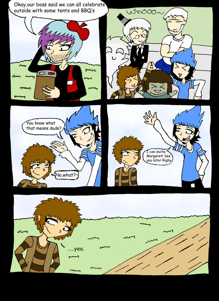 Mordecai And Rigby S Night Page 9 By Vaness96