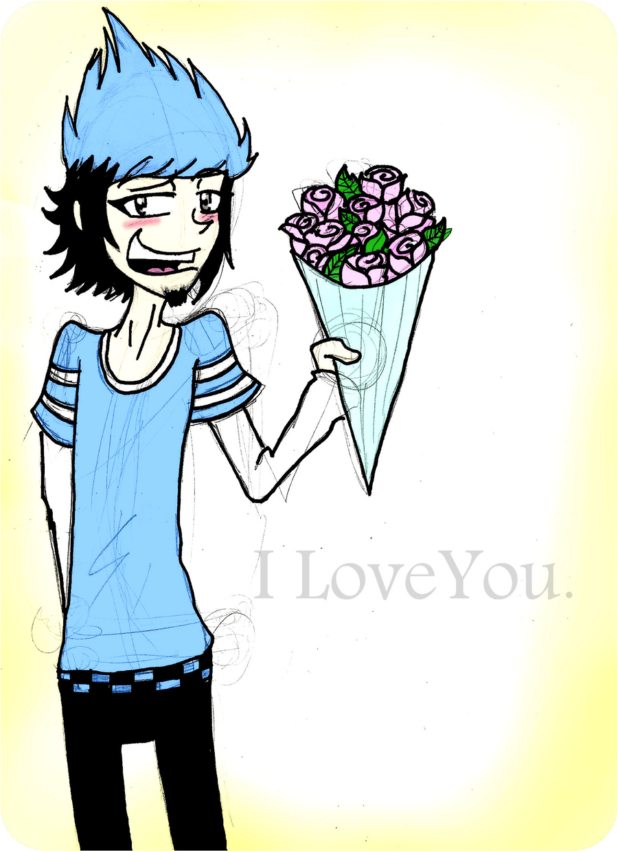 Mordecai's Lover by vaness96