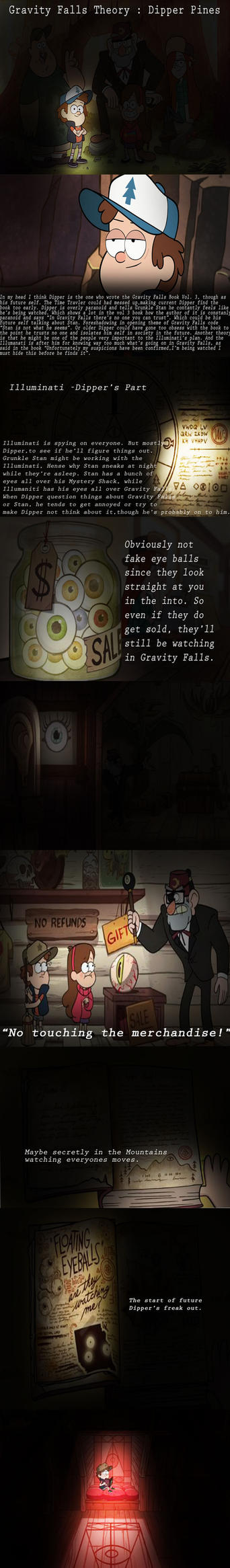 Gravity Falls Character Theory - Dipper Pines by vaness96