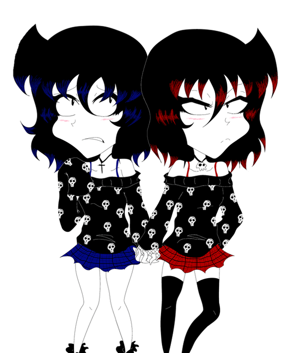 Smol Gothies by vaness96