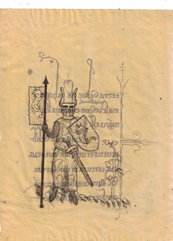 Liber mae folio xliv by ScriptorCarelus