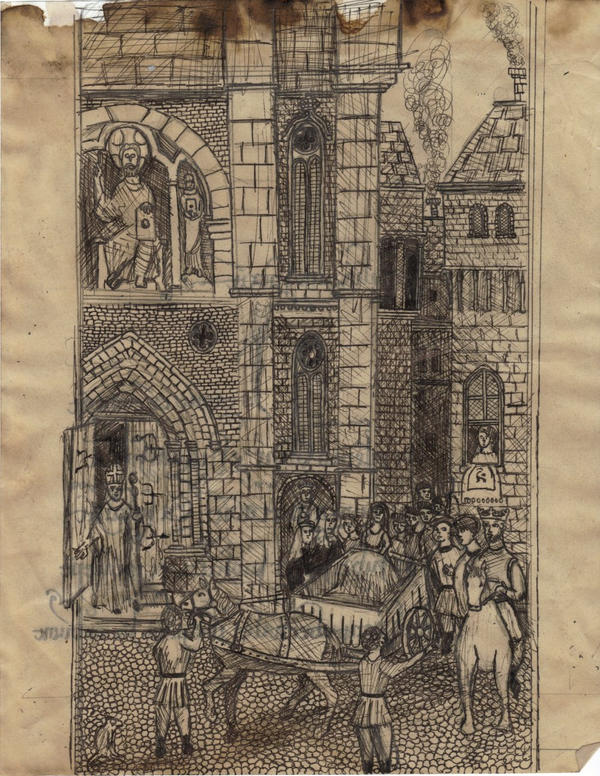 Liber mae folio xci by ScriptorCarelus