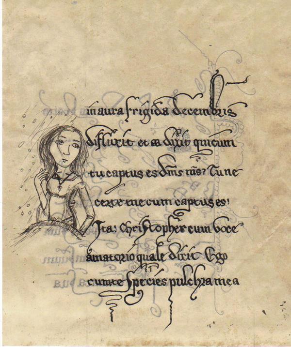Liber mae folio xcvi by ScriptorCarelus