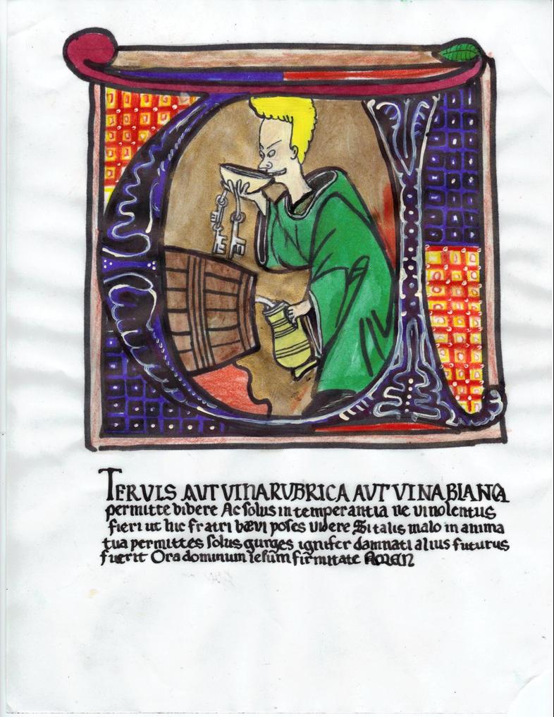 Malfactum fratris baevis by ScriptorCarelus