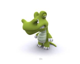 crocodile by nicobou