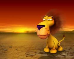 lion by nicobou