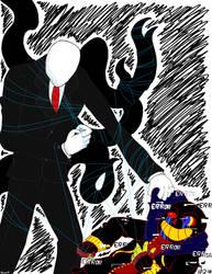 Doodle Fights Error Sans Vs Slendy