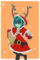 Merry Christmas Huntress Wizard by Thenameissasoti