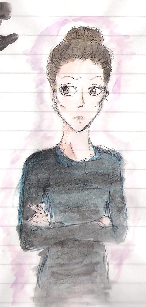 "Фанарт по ""Самой плохой ведьме"" - Страница 4 HB_in_a_blue_black_dress_by_RainbowAquila"