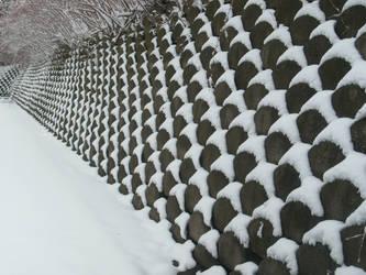 Snow Bricks by SaeSae