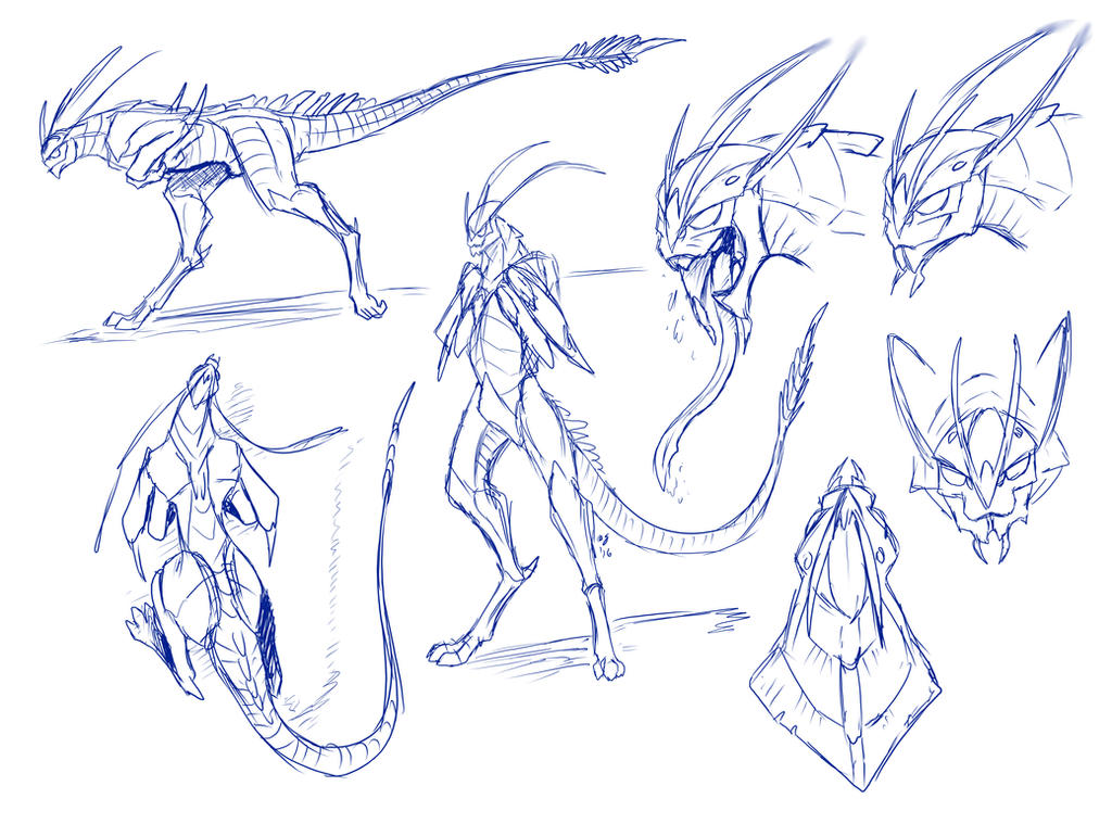 Zeno/Nafaris specie design minor update... by Blaquetygriss