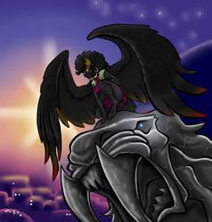 Rasheeda's final form, she's a harpy... thing...