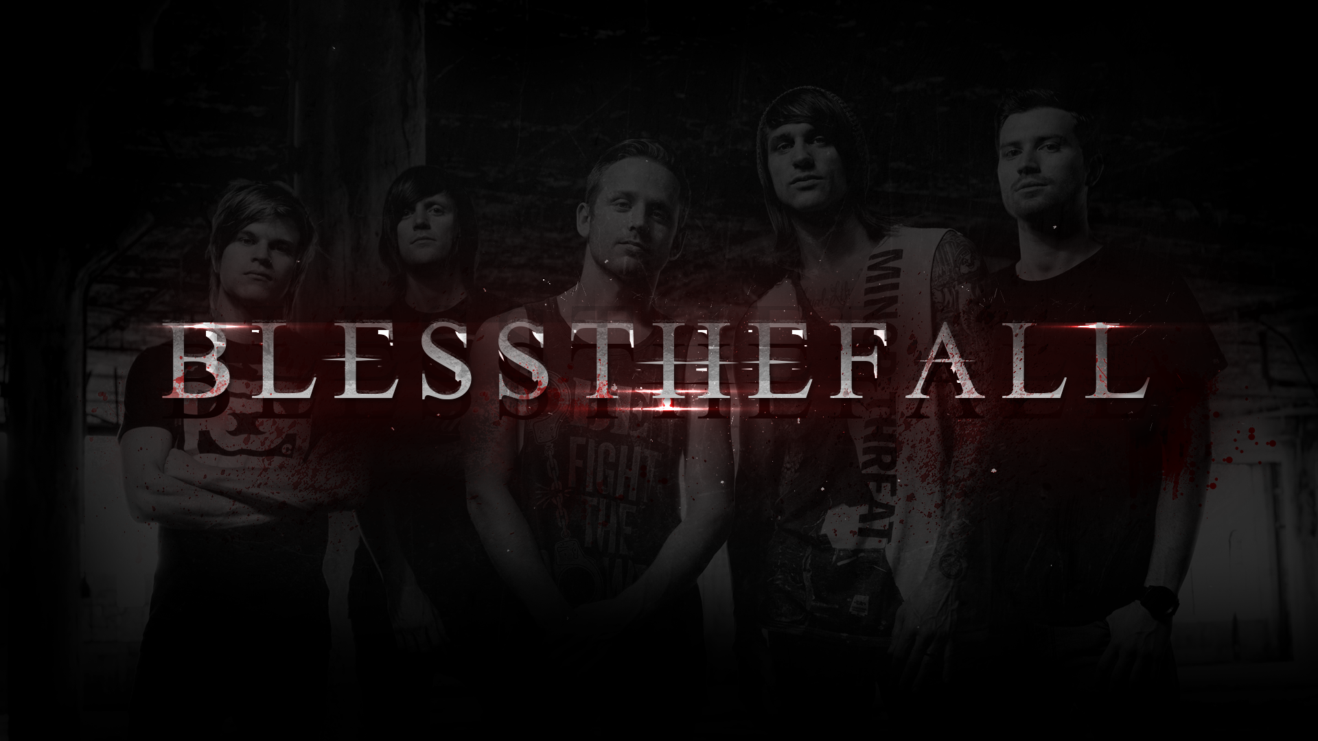 blessthefall 2015 wallpaper hd 1920 x 1080 by rooviieira