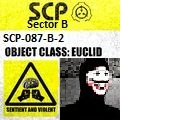 SCP Containment Breach 087-B Mod Comix Edition SCP by