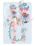 [Adoptable auction closed]  Sky Poppy boy