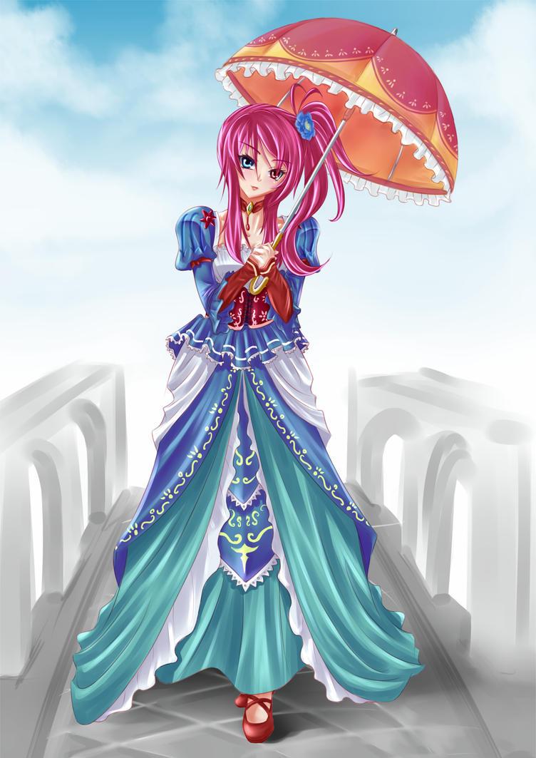 Lady Zonoah by keanove