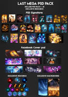 [LAST] PSD PACK + RESOURCE