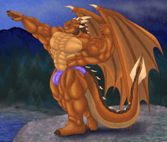 Anthro Muscle - Draco Dragonheart