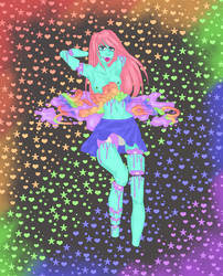 Candy Gore/Pastel Gore by WhatTheHellArt