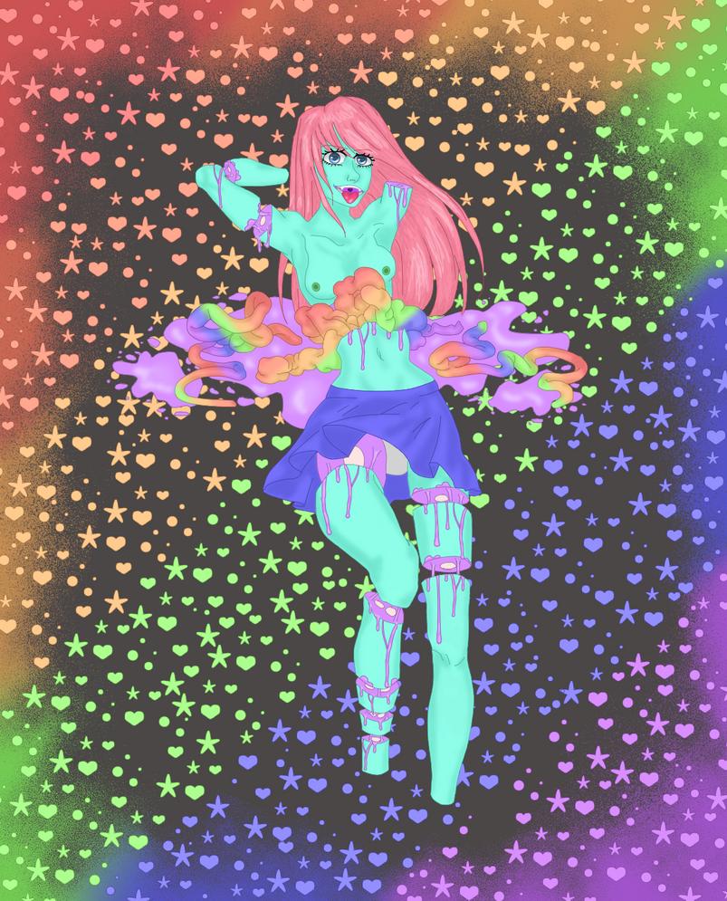 Candy Gore/Pastel Gore by WhatTheHellArt