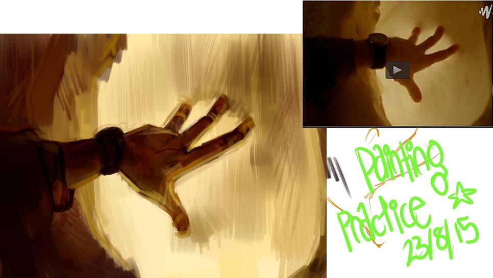 painting practice 1 by ResidentBrain