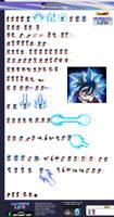 Ultra Instinct Omen Son Goku Go Gi - ULSW Sheet