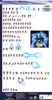 Ultra Instinct Omen Son Goku Go Gi - ULSW Sheet by SonGoku0911
