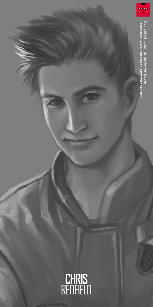 Resident Evil: Chris Redfield by yachter