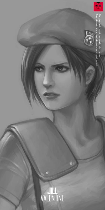 Resident Evil: Jill Valentine by yachter