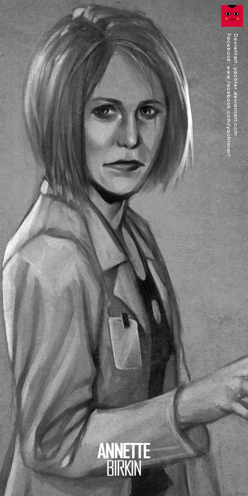 Resident Evil : Annette Berkin by yachter