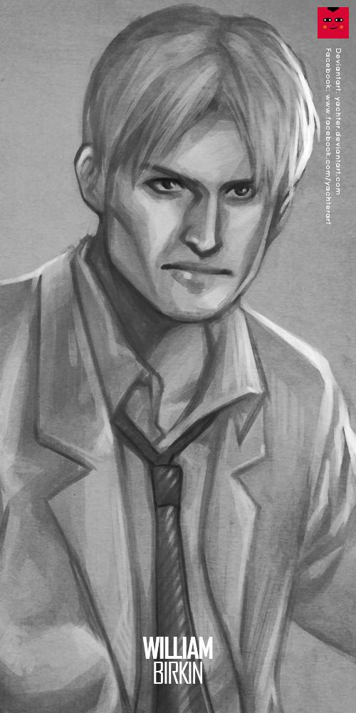 Resident Evil : William Birkin by yachter